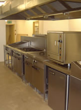 sports club commercial kitchen design